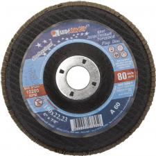 Круг лепестковый торцевой абразивный для шлифования 150 х 2223ммP60 ЛУГА 3656-150-25