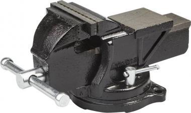 Тиски слесарные с поворотным механизмом и наковальней 100 мм STAYER MASTER 3256-100