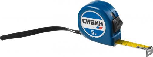 Рулетка измерительная СИБИН 34020-05-19