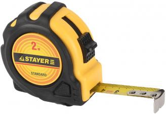 Рулетка измерительная STAYER STANDARD 34025-02