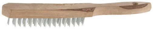 Щетка проволочная стальная / steel wire brush ТЕВТОН 3503-3