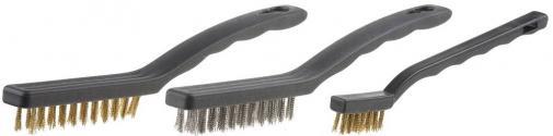 Щетки проволочные стальные / steel wire brush set STAYER MASTER 3515-H3