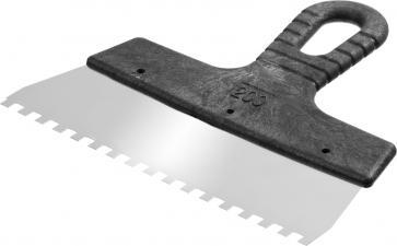 Шпатель зубчатый СИБИН 10089-20-06_z01