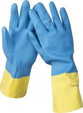 Перчатки латексные с неопреновым покрытием STAYER PROFESSIONAL 11210-M