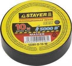 Изоляционная лента ПВХ STAYER MASTER 12291-D-15-10