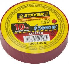 Изоляционная лента ПВХ STAYER MASTER 12291-R-15-10