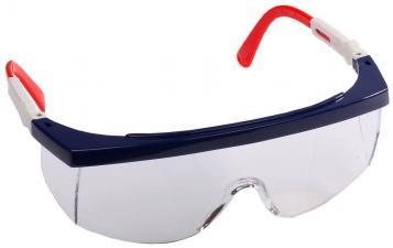 Очки защитные регулируемые поликарбонатные прозрачные линзы STAYER MASTER 2-110481