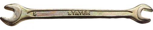 Ключ гаечный рожковый STAYER MASTER 27038-06-07