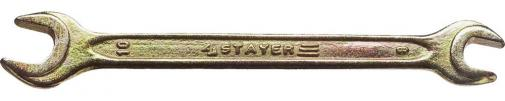 Ключ гаечный рожковый STAYER MASTER 27038-08-10