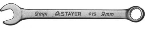 Ключ гаечный комбинированный STAYER MASTER 27085-09