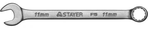 Ключ гаечный комбинированный STAYER MASTER 27085-11