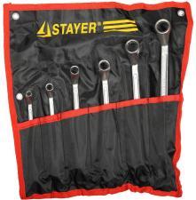 Набор гаечных ключей накидных STAYER MASTER 27151-H6
