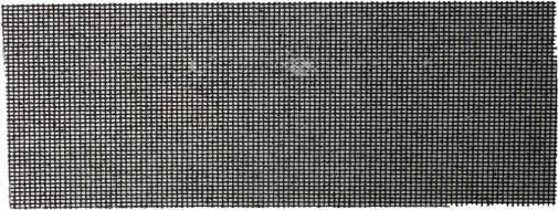 Шлифовальная сетка абразивная  № 60 105х280мм URAGAN 35555-060