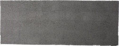 Шлифовальная сетка  абразивная  № 220 105х280мм URAGAN 35555-220