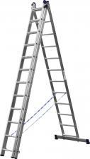 Лестница универсальная трехсекционная СИБИН 38833-12