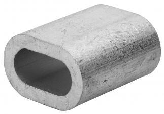 Зажим троса DIN 3093 алюминиевый ЗУБР 4-304476-01