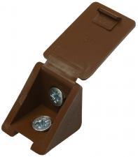 Уголок мебельный в комплекте с саморезами ЗУБР 4-308256-1