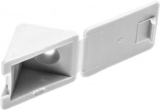 Уголок мебельный в комплекте с саморезами ЗУБР 4-308256-3