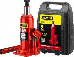 Домкрат бутылочный гидравлический STAYER PROFESSIONAL 43160-2-K_z01