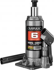 Домкрат бутылочный гидравлический MIRAX 43260-6