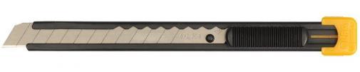 Нож с сегментированным лезвием для резки бумаги картона обоев OLFA OL-S