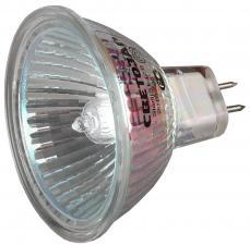 Мощность 20ВТ Тип цоколя GU5.3  напряжение 12В диаметр 51мм СВЕТОЗАР SV-44722