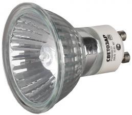 Мощность 75ВТ Тип цоколя GU10 напряжение 220В диаметр 51мм СВЕТОЗАР SV-44827