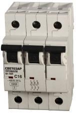 Выключатель автоматический СВЕТОЗАР ПРЕМИУМ SV-49033-50-C
