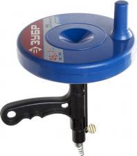 Трос сантехнический для прочистки труб и канализации в пластиковом корпусе ЗУБР ЭКСПЕРТ 51907-05
