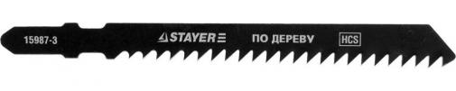 Полотна  для эл/лобзика HCS по дереву ДВП ДСП EU-хвост. шаг 3мм 75мм STAYER PROFESSIONAL 15987-3_z01 STAYER PROFESSIONAL 15987-3_z01