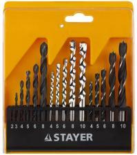 Набор STAYER STANDARD: Сверла комбинированные 16 предметов STAYER 29720-H16