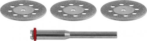 Круг  алмазный отрезной с оправкой STAYER 29913-H3