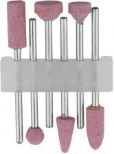 Набор : Насадки шлифовальные абразивные с оправкой оксид алюминия STAYER 29920-H6