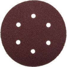 Круг шлифовальный из абразивной бумаги на велкро основе ЗУБР МАСТЕР 35566-150-060