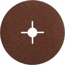 Круг шлифовальный  на фибровой основе для УШМ P60 Д 115мм ЗУБР ПРОФЕССИОНАЛ 35585-115-060