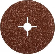 Круг шлифовальный  на фибровой основе для УШМ P24 Д 125мм ЗУБР ПРОФЕССИОНАЛ 35585-125-024