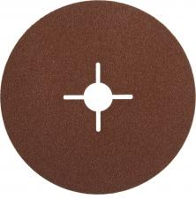 Круг шлифовальный  на фибровой основе для УШМ P80 Д 180мм ЗУБР ПРОФЕССИОНАЛ 35585-180-080