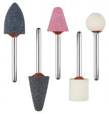 Набор : Абразивные минишарошки-насадки для гравера и дрели хвостовик d 32мм ЗУБР МАСТЕР 35992-H5