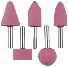 Набор : Абразивные минишарошки-насадки для  дрели оксид алюминия высокой твердости ЗУБР МАСТЕР 35996-H5