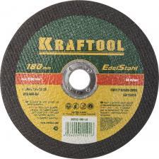 Круг отрезной абразивный KRAFTOOL по нержавеющей стали для УШМ KRAFTOOL 36252-180-1.6