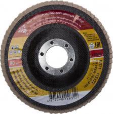 Круг лепестковый торцевой БАЗ P80 115 х 22 мм БАЗ 36563-115-80
