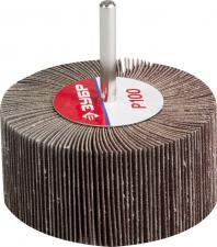 Круг шлифовальный  веерный лепестковый  P100 40х80мм ЗУБР МАСТЕР 36604-100