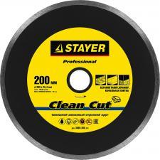 Круг отрезной алмазный для электроплиткореза STAYER PROFESSIONAL 3665-200_z01
