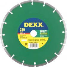 Круг отрезной алмазный для УШМ DEXX 36701-230_z01