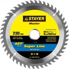 Диск пильный по дереву STAYER MASTER 3682-230-30-48