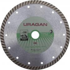 Круг отрезной алмазный для УШМ URAGAN 909-12131-200