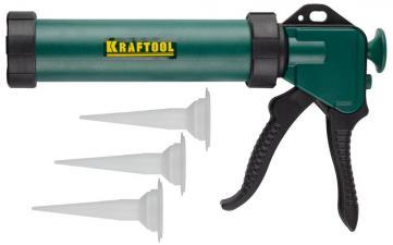 Пистолет для герметиков с закрытым корпусом KRAFTOOL PRO 06677_z01