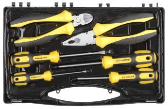 набор слесарно-монтажного инструмента 6 передметов STAYER PROFESSIONAL 2202-H6