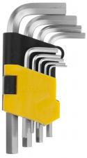 Ключи имбусовые укороченные STAYER MASTER 2740-H9